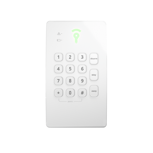 keypad control panel