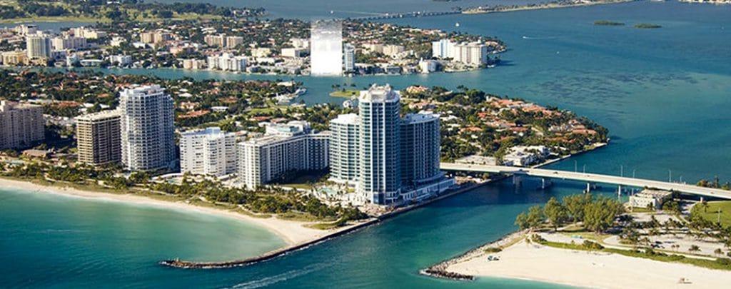 Safest cities in Florida - Bay Harbor Islands, Florida