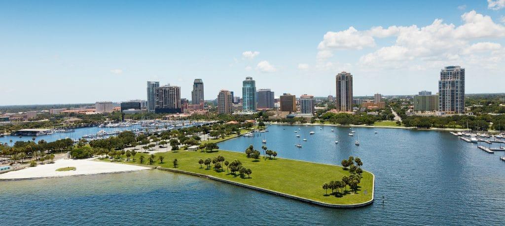 Safest cities in Florida - St. Petersburg, Florida
