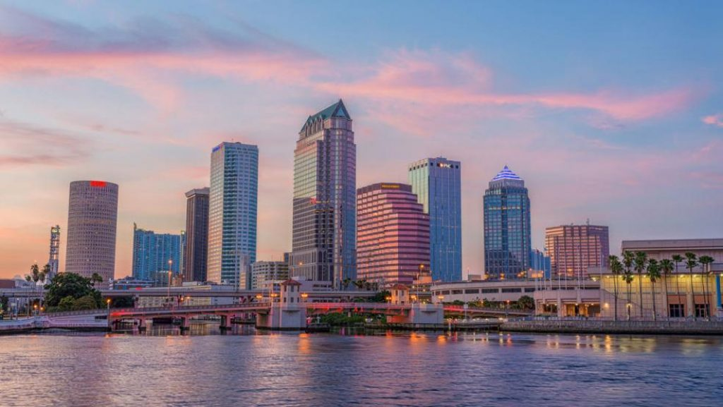 Safest cities in Florida - Tampa, Florida