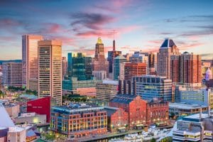 Safest Cities in America - Baltimore, Maryland