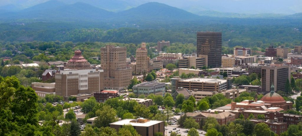 Asheville, North Carolina - Safest cities in North Carolina