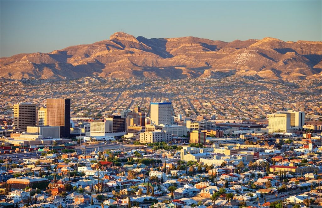 El Paso, Texas - Safest cities in Texas