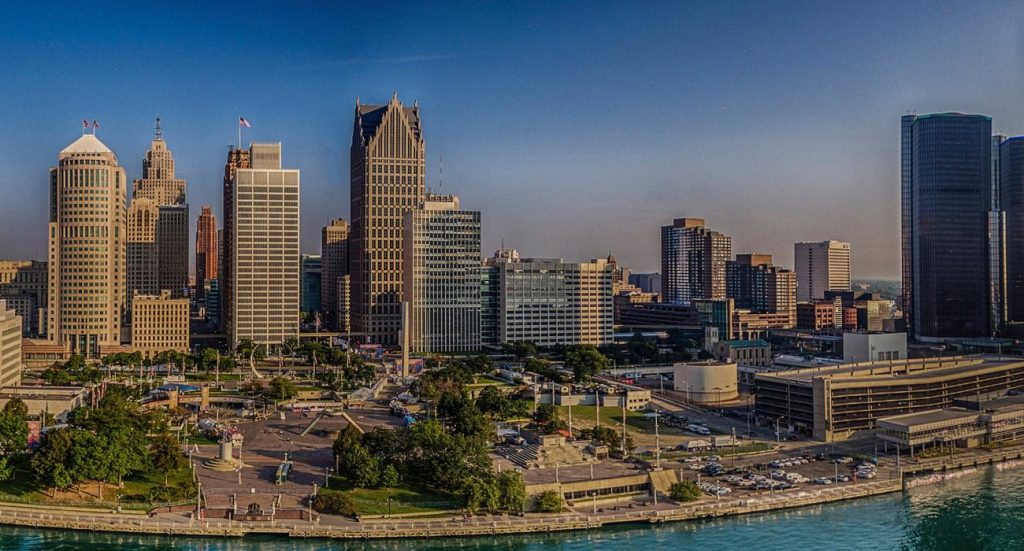 Detroit, Michigan - safest cities in michigan