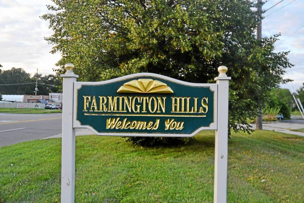 Farmington Hills, Michigan - safest cities in michigan