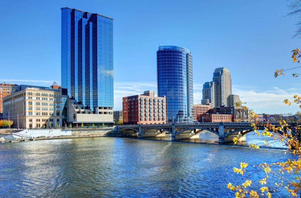 Grand Rapids, Michigan - safest cities in michigan