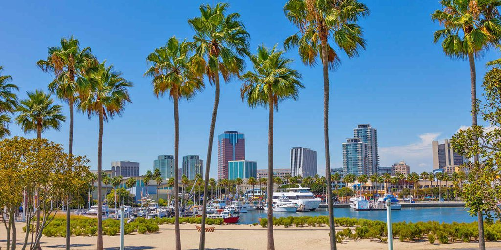 Long Beach, California - safest cities in california