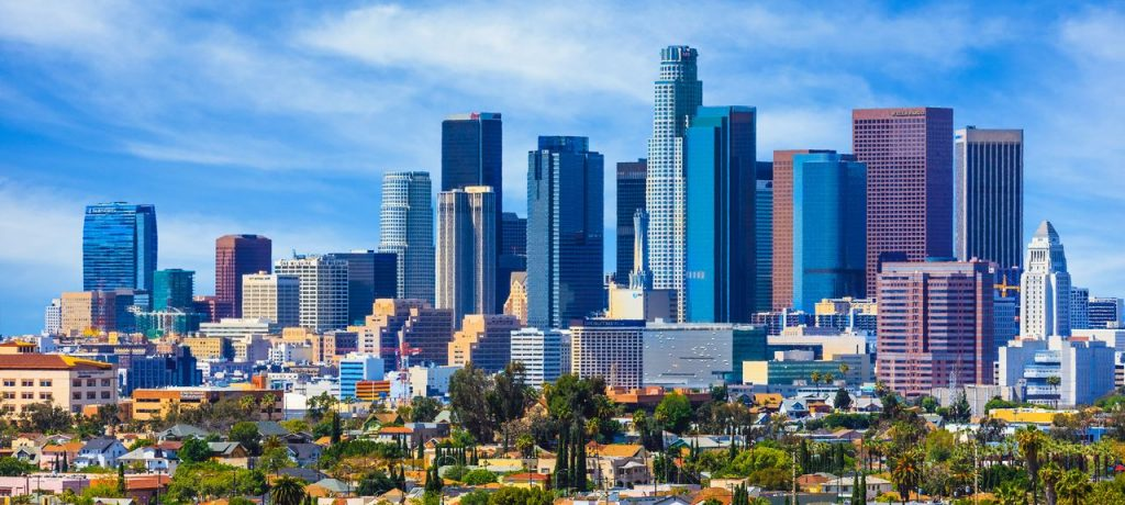 Los Angeles, California - safest cities in california