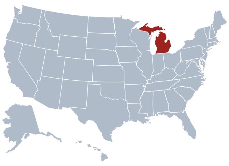 Michigan state - safest cities in michigan