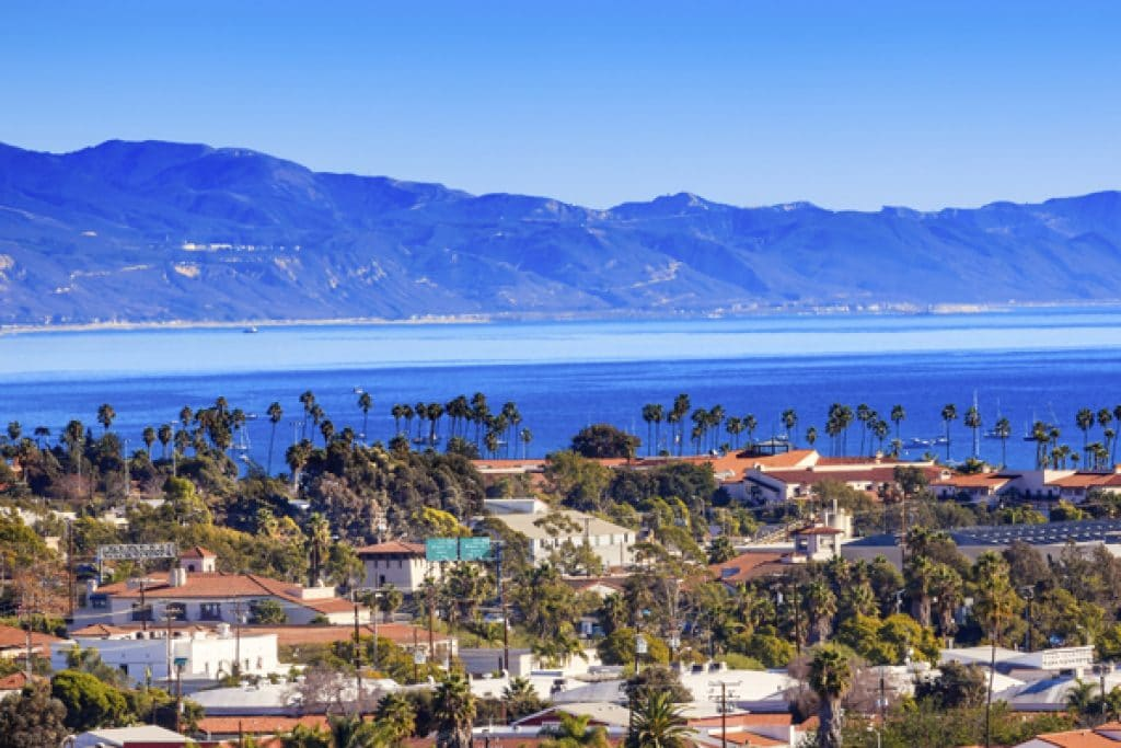 Santa Barbara, California - safest cities in california