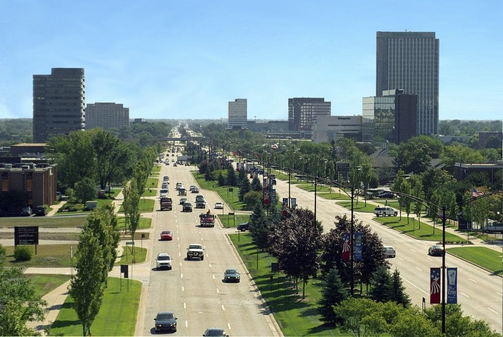 Troy, Michigan - safest cities in michigan