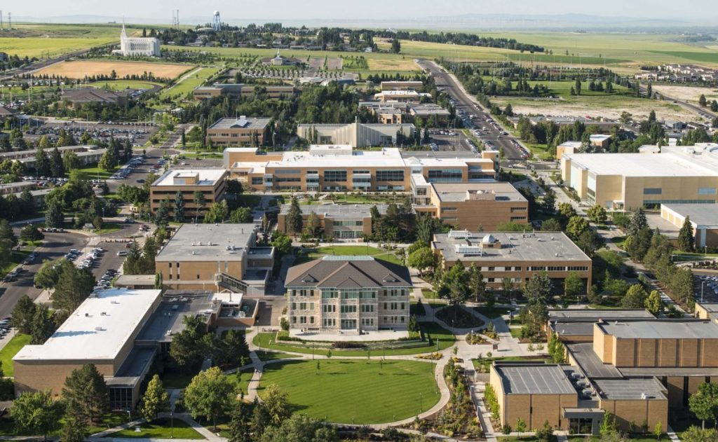 Brigham Young University – Rexburg, Idaho - safest colleges in America