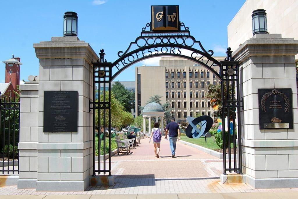 George Washington University – Washington, DC - safest colleges in America