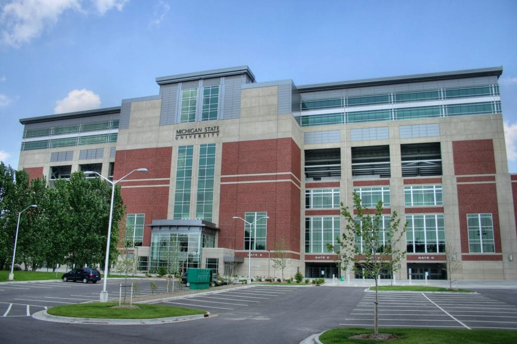 Michigan State University – East Lansing, Michigan - safest colleges in America