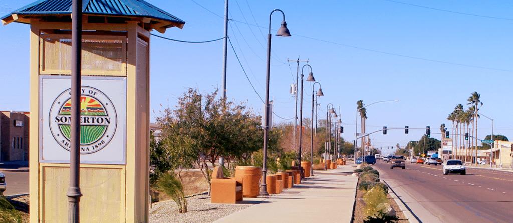 Somerton, Arizona - safest cities in arizona