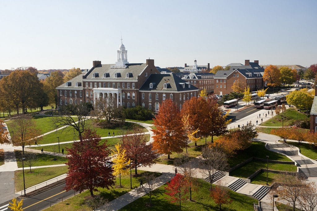 The University of Maryland – College Park, Maryland - safest colleges in America