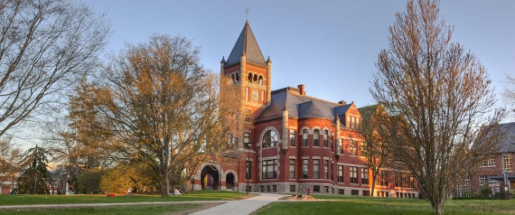 The University of New Hampshire – Durham, New Hampshire - safest colleges in America