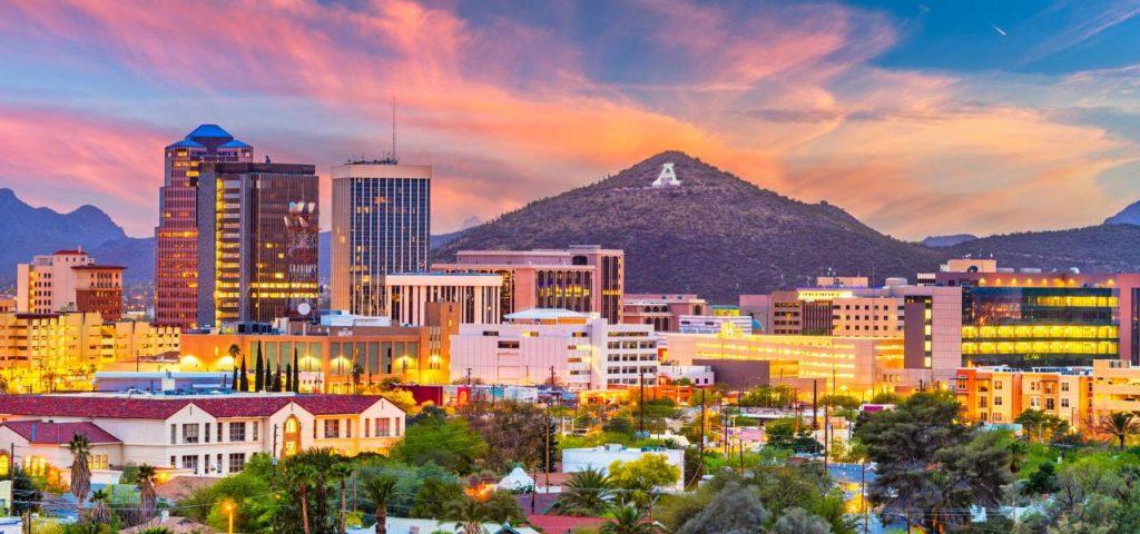 Tucson, Arizona - safest cities in arizona