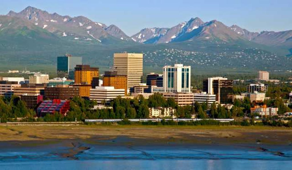 Anchorage, Alaska - most dangerous cities in us