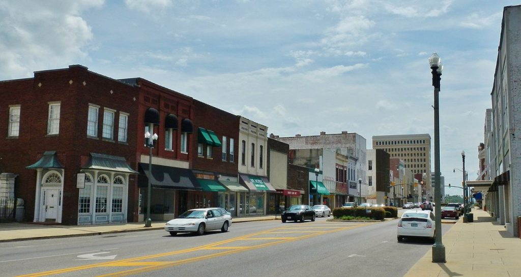 Anniston, Alabama - most dangerous cities in us