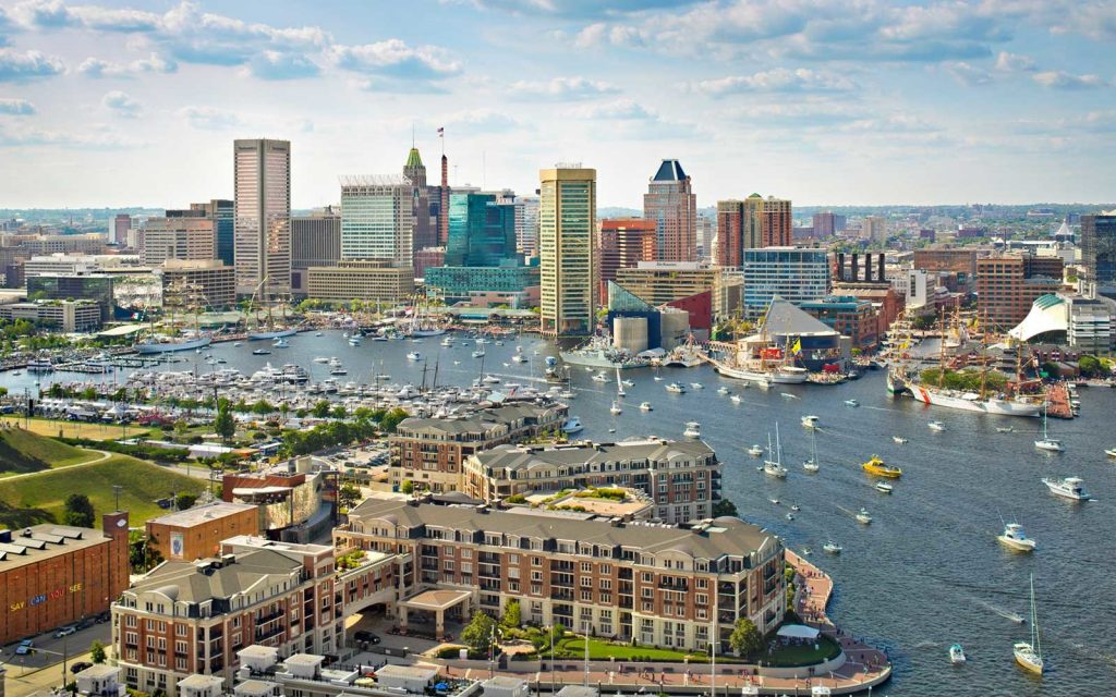 Baltimore, Maryland - most dangerous cities in us