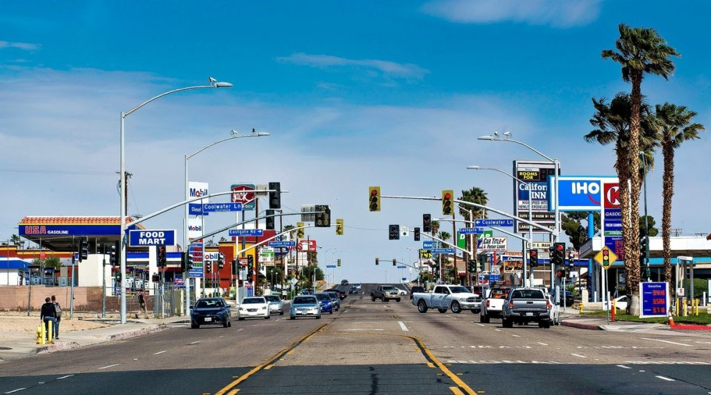 Barstow, California - most dangerous cities in us