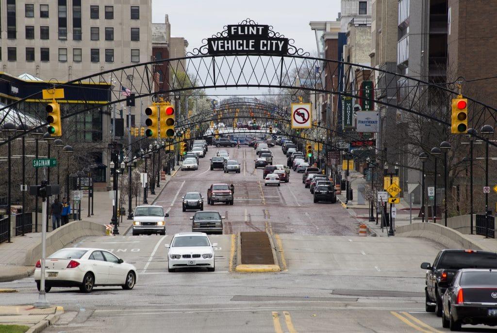Flint, Michigan - most dangerous cities in us