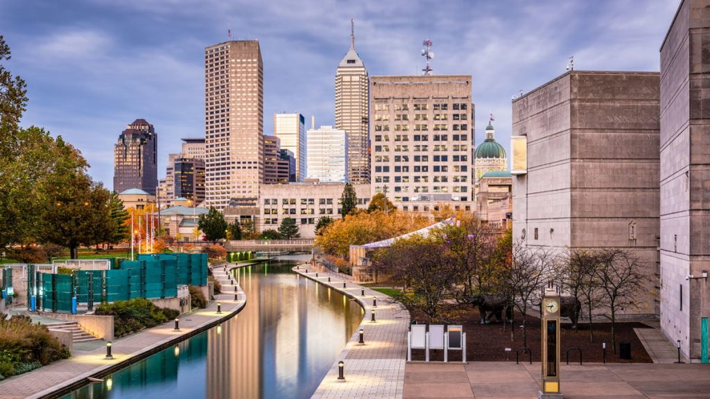 Indianapolis, Indiana - most dangerous cities in us