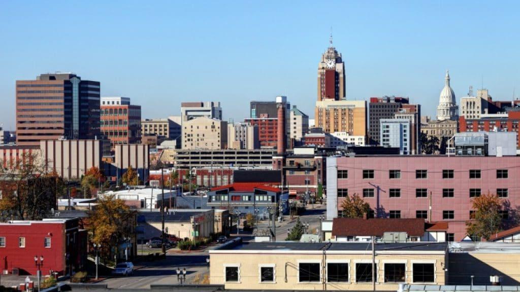 Lansing, Michigan - most dangerous cities in us