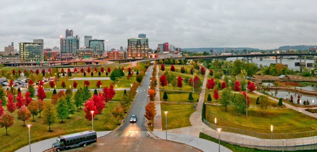 Little Rock, Arkansas - most dangerous cities in us
