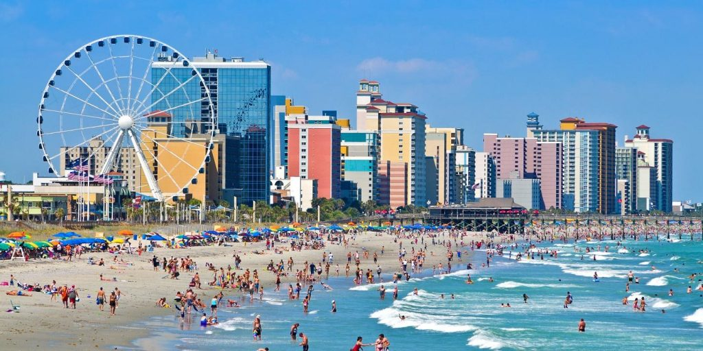 Myrtle Beach, South Carolina - most dangerous cities in us