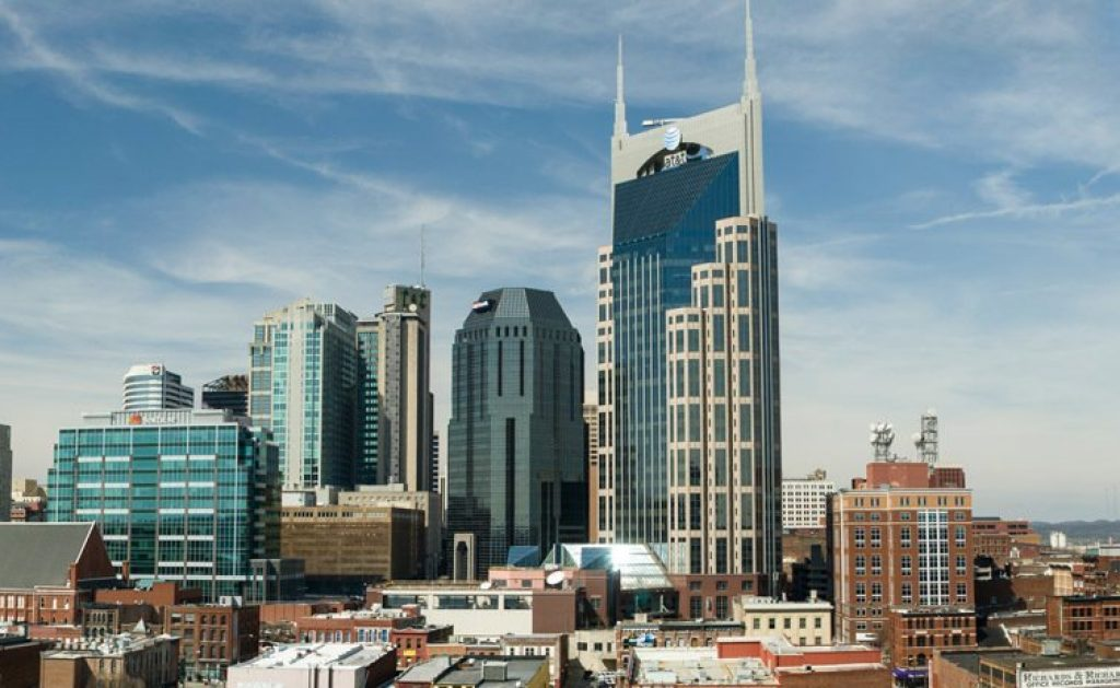 Nashville, Tennessee - most dangerous cities in us