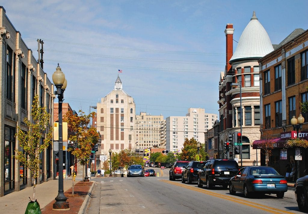 Rockford, Illinois - most dangerous cities in us