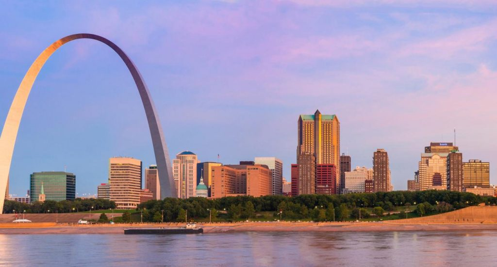 St. Louis, Missouri - most dangerous cities in us
