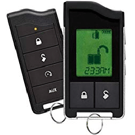 Python LCD Two-Way Security and Remote-Start System - best car alarm