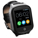 KKBear GPS Senior Tracking Smart Watch - best gps tracker for senior