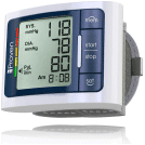 iProvèn Wrist Blood Pressure Monitor Watch - Digital Home Blood Pressure Meter - best blood pressure monitor