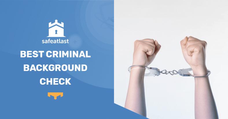 Best Criminal Background Check