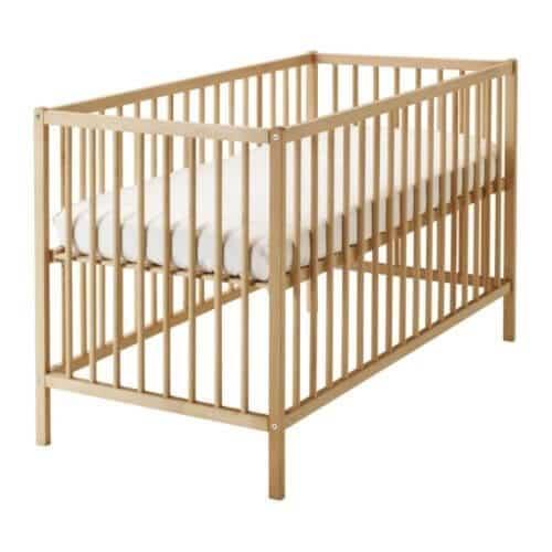 Ikea Crib Beech