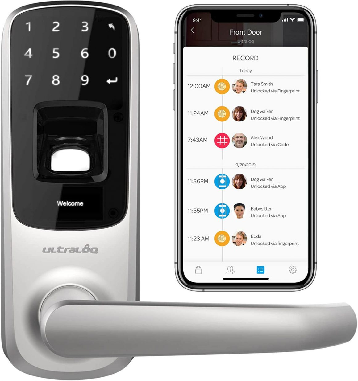Ultraloq UL3 Door Lock