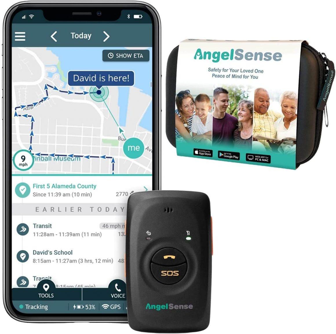 AngelSense GPS Tracker