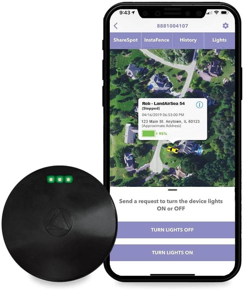 LandAirSea Tracker