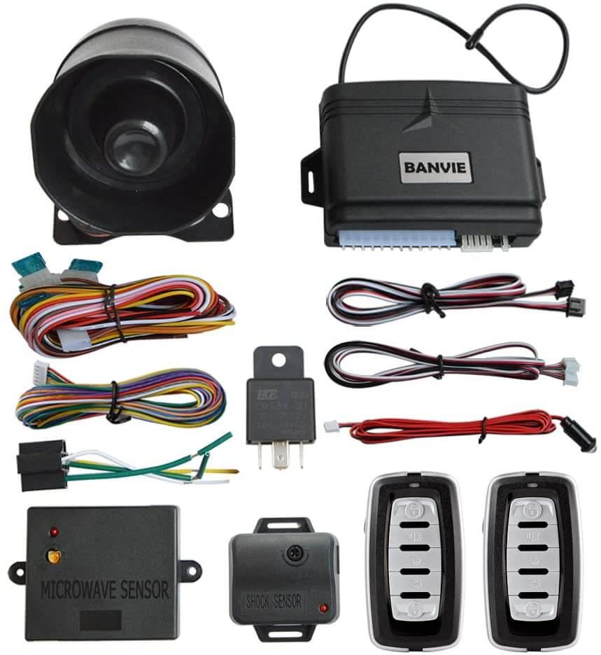 Banvie Car Security Alarm System