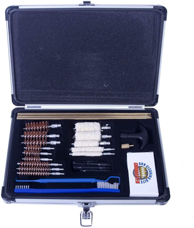 Gunmaster Gun Cleaning Kit - Universal, Aluminum Case